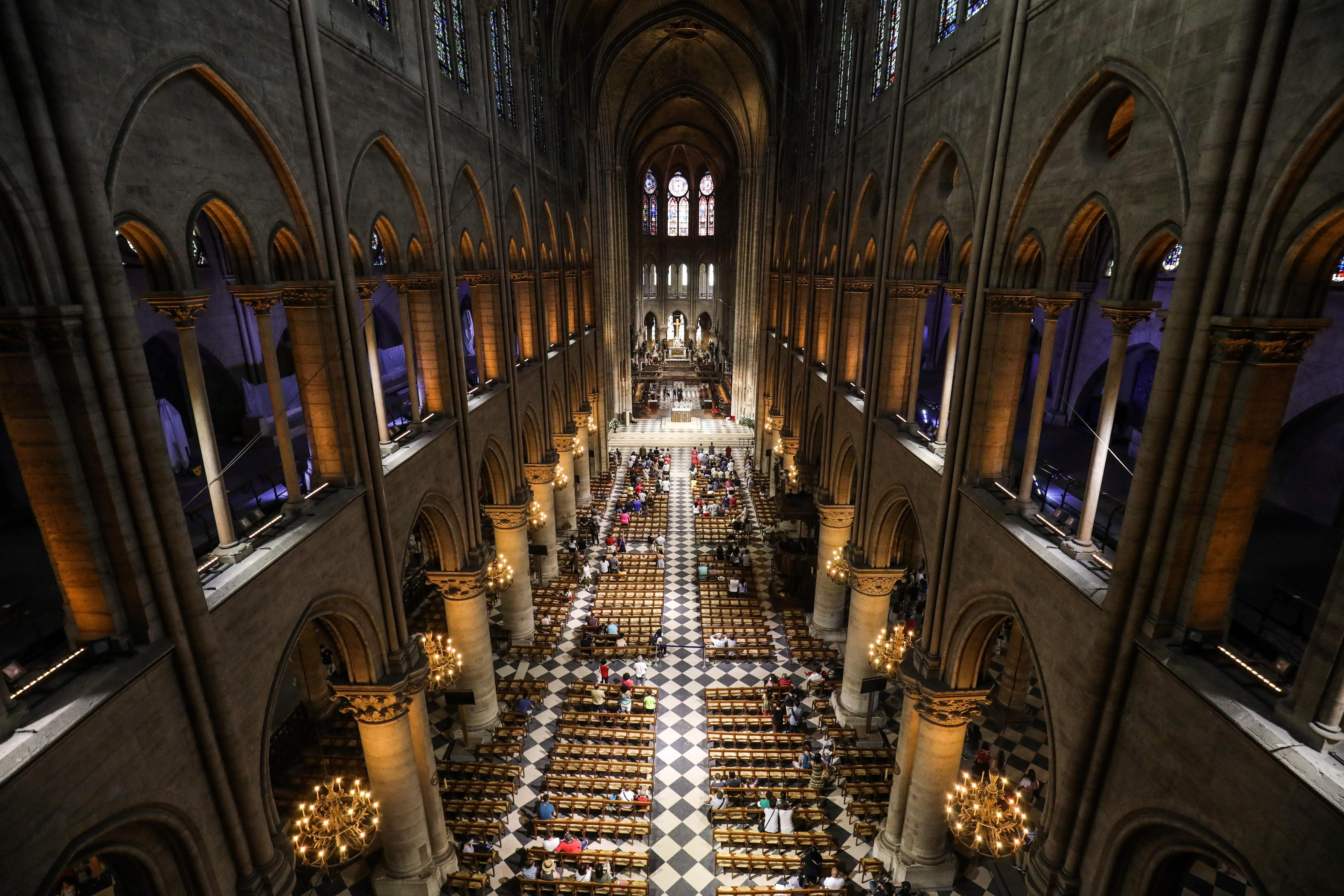 The Entire Wooden Interior Of Notre Dame Cathedral Has Been Lost