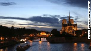 Measuring the architectural loss of Notre Dame fire