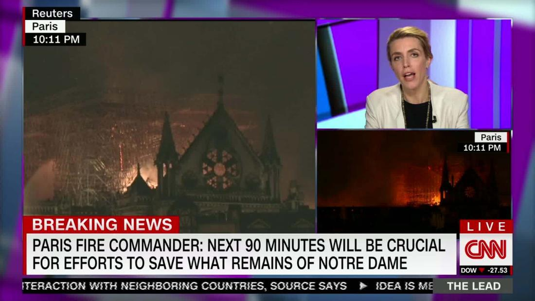 Watching Notre Dame burn, the entire world was in pain