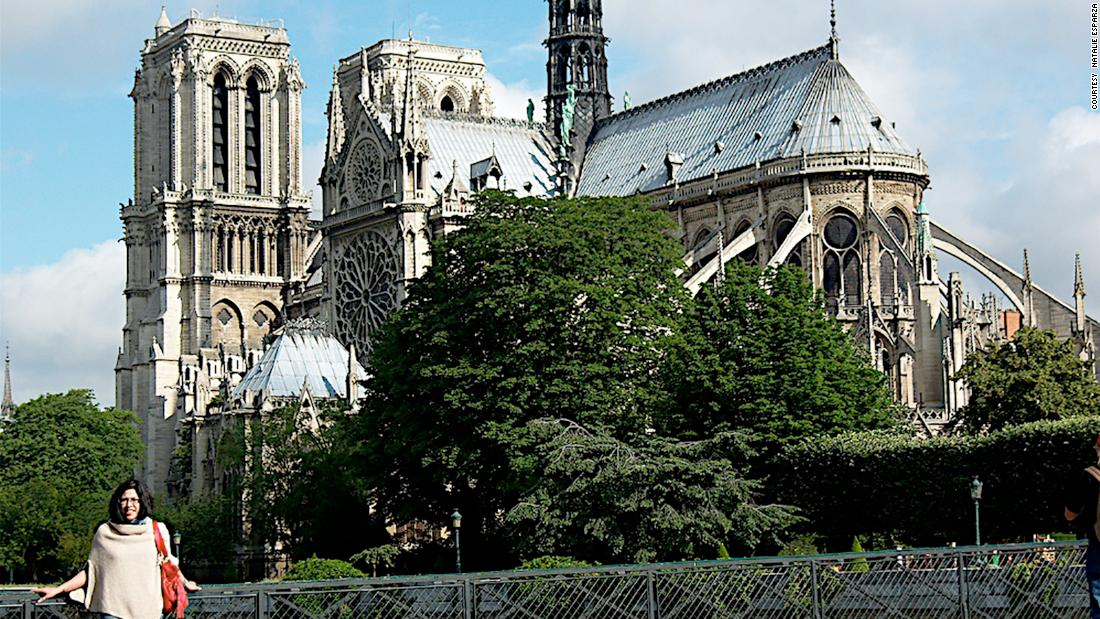 Travelers share memories of their visits to Notre Dame Cathedral