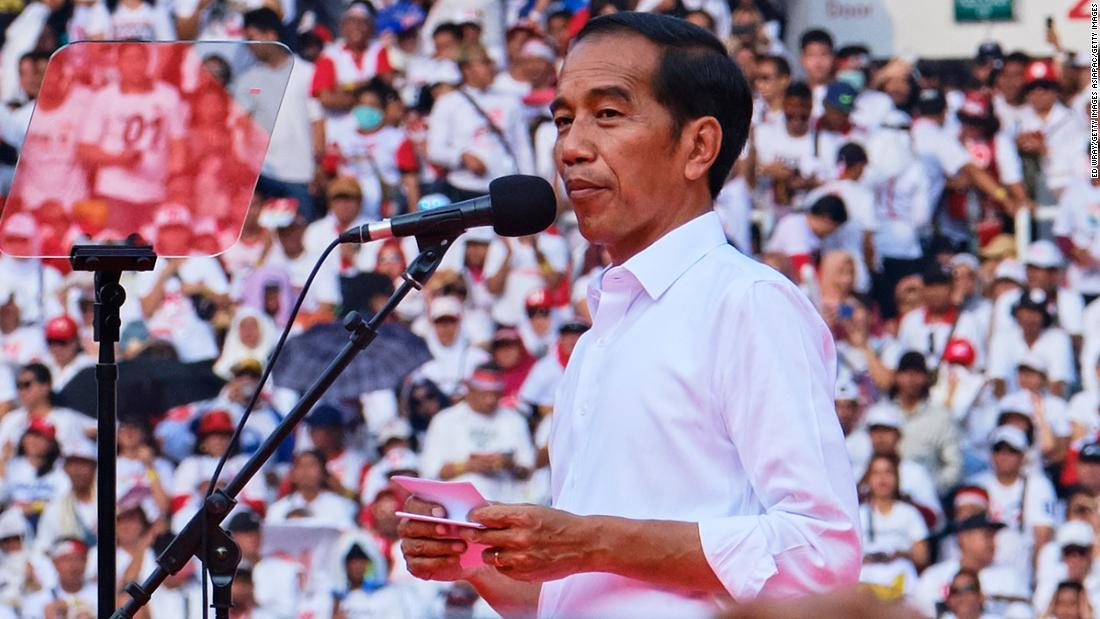 Joko Widodo secures second term as Indonesia's president