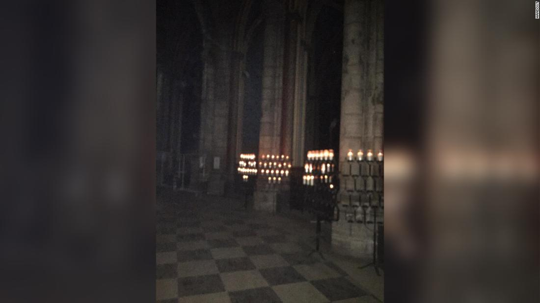 What these photos from inside Notre Dame tell us about the fire