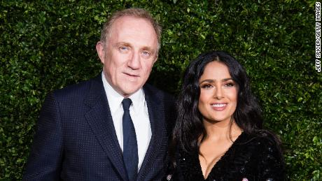 Luxury fashion magnate Francois-Henri Pinault and actress Salma Hayek have been married since 2009.