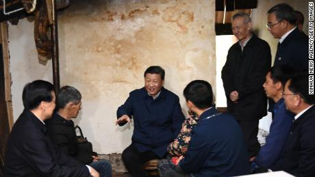 Chinese President Xi Jinping Attends Rural Dwellers and April 15th Find out about progress in poverty reduction in the village of Huaxi.