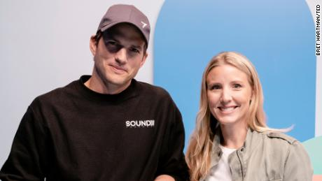 Ashton Kutcher and Julie Cordua, Thorn CEO
