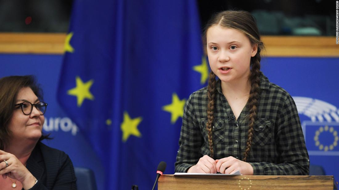 Greta Thunberg arrives in New York after 15-day yacht journey - CNN