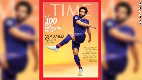 Mohamed Salah Stars On Cover Of TIME 100 Tiger Woods Naomi Osaka And LeBron James Also List