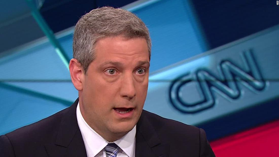 Rep. Tim Ryan says he's 'concerned' about more Democrats viewing socialism positively than capitalism