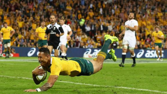 Folau has made 73 international appearances for the Wallabies.