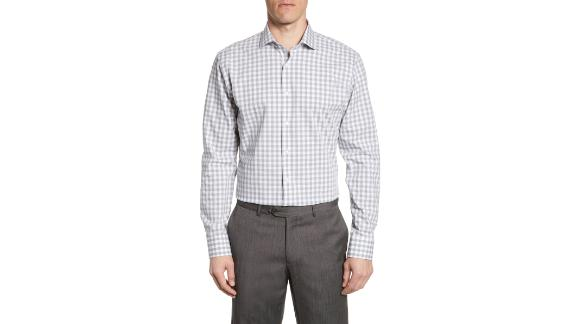 "<strong>Tech-Smart Trim Fit Stretch Check Dress Shirt ($34.75, originally $69.50; </strong><a href=""https://click.linksynergy.com/deeplink?id=Fr/49/7rhGg&mid=1237&u1=0416nordspringsale&murl=https%3A%2F%2Fshop.nordstrom.com%2Fs%2Fnordstrom-mens-shop-tech-smart-trim-fit-stretch-check-dress-shirt%2F5299898%3Forigin%3Dcategory-personalizedsort%26breadcrumb%3DHome%252FSale%252FMen%26color%3Dpurple%2520regal"" target=""_blank"" target=""_blank""><strong>shop.nordstrom.com</strong></a><strong>)</strong>"