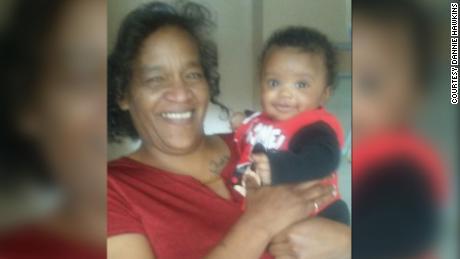 Ja & Ceon and his aunt, Dannie Hawkins.