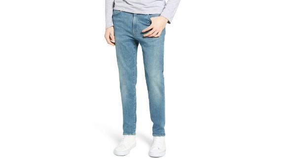 """<a href=""""https://click.linksynergy.com/deeplink?id=Fr/49/7rhGg&mid=1237&u1=0416nordspringsale&murl=https%3A%2F%2Fshop.nordstrom.com%2Fs%2Flevis-510-skinny-fit-jeans-green-beer%2F5159433%3Forigin%3Dcategory-personalizedsort%26breadcrumb%3DHome%252FSale%252FMen%26color%3Dgreen%2520beer"""" target=""""_blank"""" target=""""_blank""""><strong>Levi's 510 Skinny Fit Jeans ($53.70, originally $89.50; shop.nordstrom.com)</strong></a>"""