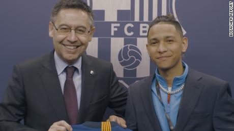 Anthony Borges: Parkland hero's trip to Barça