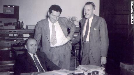 Sam Born, left, and his brothers-in-law, Jack Shaffer and Irv Shaffer.
