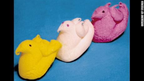 The original Peeps had wings.