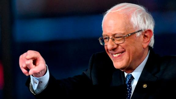 Democratic presidential candidate, U.S. Sen. Bernie Sanders (I-VT) participates in a FOX News Town Hall at SteelStacks on April 15, 2019 in Bethlehem, Pennsylvania. (Mark Makela/Getty Images)