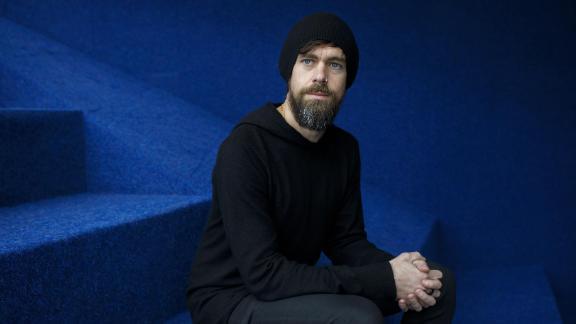 Twitter CEO Jack Dorsey often wears a black beanie.