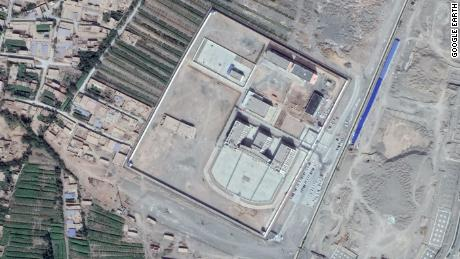 Another suspected detention center outside the city of Turpan, also found to be inaccessible by CNN