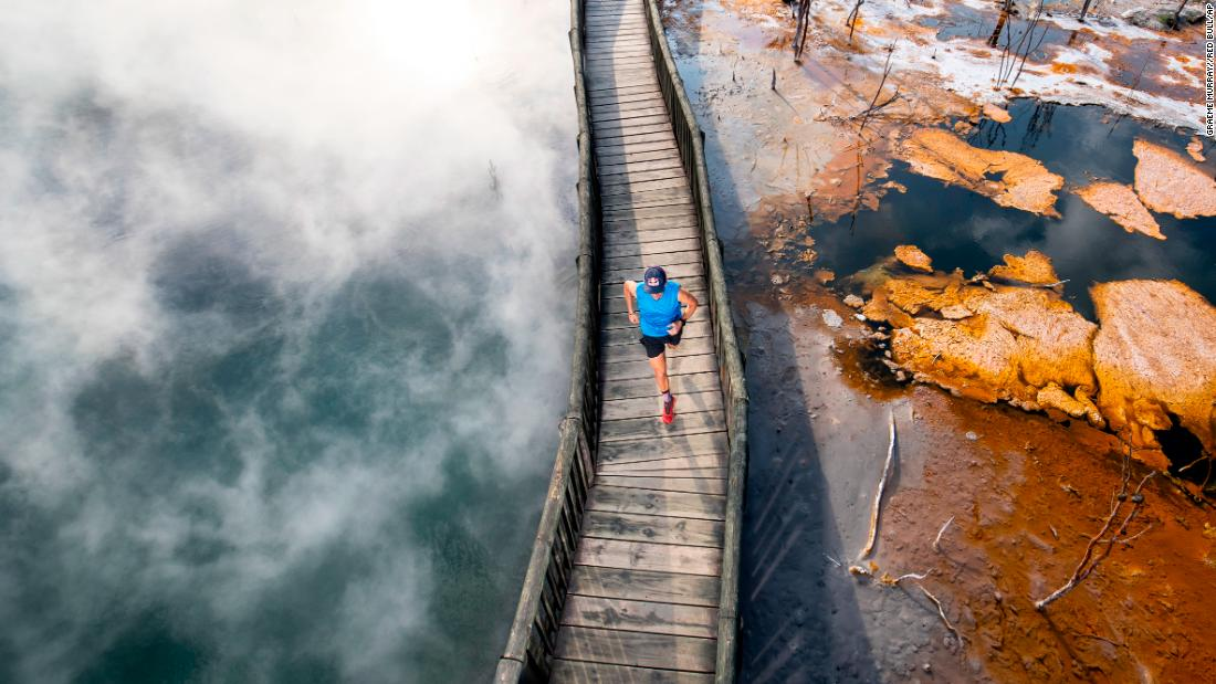 <strong>Rotorua, New Zealand. </strong>Located on New Zealand's North Island, Rotorua is home to geothermal waters, Maori culture, forests to explore and the Tarawera Ultra Marathon (Ryan Sandes is seen here training for it in February).
