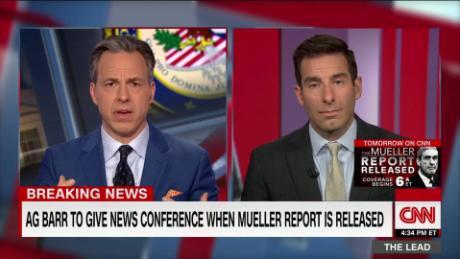 Legal analyst previews Barr presser on Mueller report