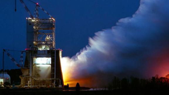 Atlas II AR (RD180 Engine) hot fire at 4670