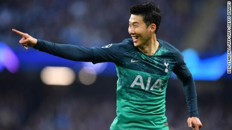 Son Heung-Min got two for Spurs inside the opening 10 minutes.