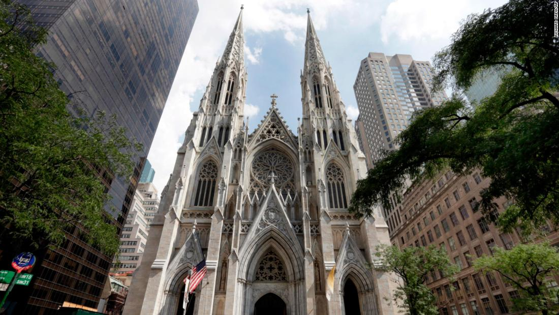 A man arrested carrying gas and lighters into St. Patrick's Cathedral booked a one-way flight to Rome