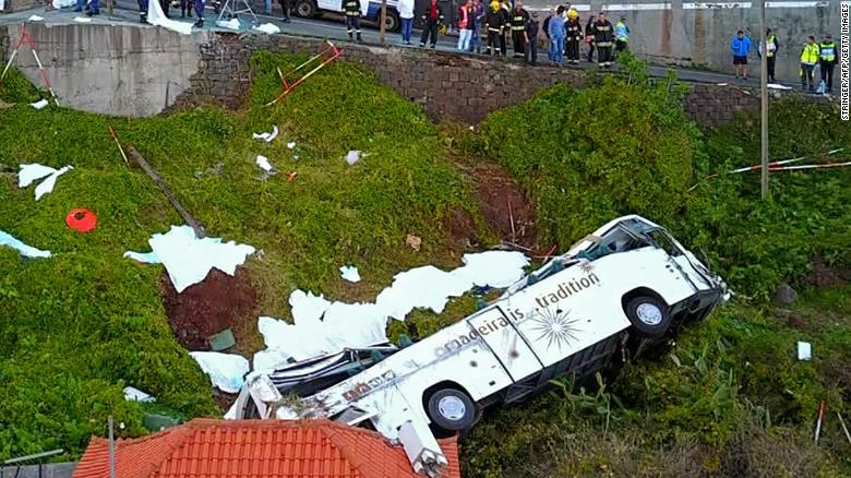 Madeira Bus Crash At Least 28 People Killed After Tourist