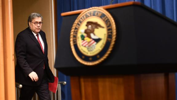 US Attorney General William Barr held a highly criticized press conference before the release of the redacted Mueller report on Thursday.