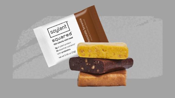 "Soylent considers its new 100-calorie bars ""mini meals."""