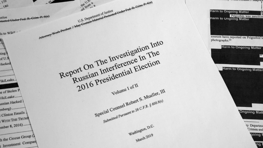 Read the full Mueller report