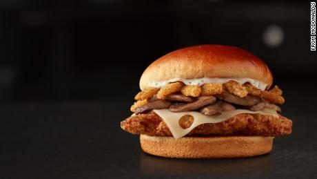 McDonald's is moving away from its Signature Crafted Recipes line of burgers.