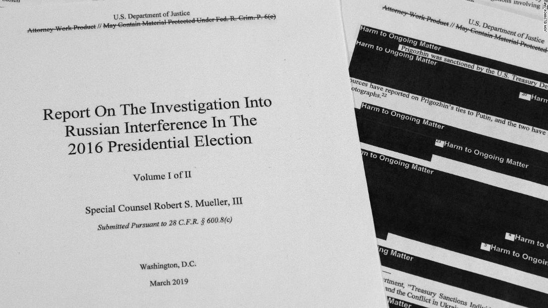 What's in the Mueller report? CNN breaks it down