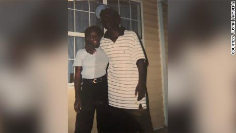 A picture of Allen Capers, right, provided by the family's attorney.