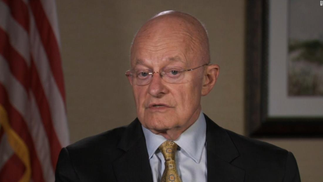 Ex-DNI Clapper says redacted Mueller report 'pretty devastating'