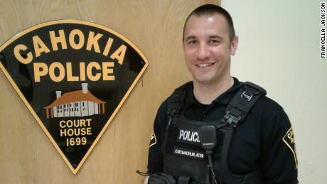 Officer Roger Gemoules is being praised for helping a man he pulled over get to a job interview