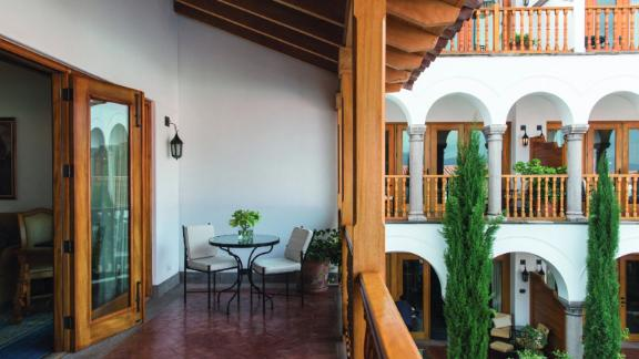 """<strong>8. </strong><a href=""""http://www.anrdoezrs.net/links/8314883/type/dlg/sid/0418besthotels/https://www.tripadvisor.com/Hotel_Review-g294314-d2568957-Reviews-Belmond_Palacio_Nazarenas-Cusco_Cusco_Region.html"""" target=""""_blank"""" target=""""_blank""""><strong>Belmond Palacio Nazarenas (Cusco, Peru)</strong></a><br /><em>One </em><a href=""""http://www.anrdoezrs.net/links/8314883/type/dlg/sid/0418besthotels/https://www.tripadvisor.com/"""" target=""""_blank"""" target=""""_blank""""><em>TripAdvisor </em></a><em>reviewer said: </em>""""The building has been beautifully restored. Our room was truly extraordinary. The staff was tremendous. The grounds are an oasis from the city and a perfect place to relax after a day of touring the Inca sites.""""<br />"""