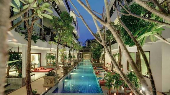 """<strong>11. </strong><a href=""""http://www.anrdoezrs.net/links/8314883/type/dlg/sid/0418besthotels/https://www.tripadvisor.com/Hotel_Review-g297390-d11947935-Reviews-Golden_Temple_Retreat-Siem_Reap_Siem_Reap_Province.html"""" target=""""_blank"""" target=""""_blank""""><strong>Golden Temple Retreat (Siem Reap, Cambodia)</strong></a><br /><em>A </em><a href=""""http://www.anrdoezrs.net/links/8314883/type/dlg/sid/0418besthotels/https://www.tripadvisor.com/"""" target=""""_blank"""" target=""""_blank""""><em>TripAdvisor r</em></a><em>eviewer said:</em> """"An absolutely amazing hotel. From the moment we arrived to the minute we left, we were treated like royalty."""""""