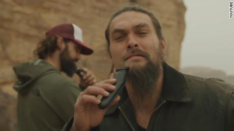'Game of Thrones' star Jason Momoa shaves off beard for a cause