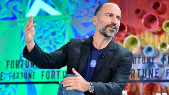 LAGUNA NIGUEL, CA - OCTOBER 03:  Uber CEO Dara Khosrowshahi attends Fortune Most Powerful Women Summit 2018 at Ritz Carlton Hotel on October 3, 2018 in Laguna Niguel, California.  (Photo by Jerod Harris/Getty Images for Fortune)