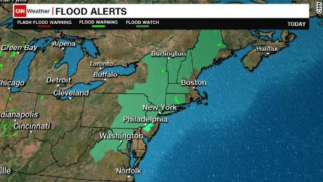 Friday flash flood watch