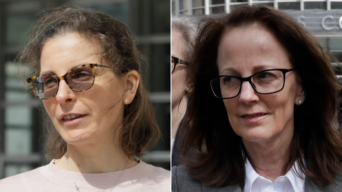 From left, Clare Bronfman and Kathy Russell