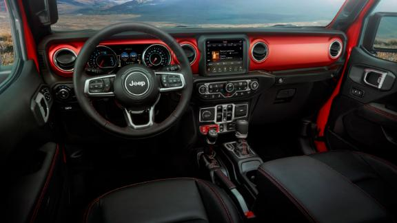 2020 Jeep® Gladiator -- interior