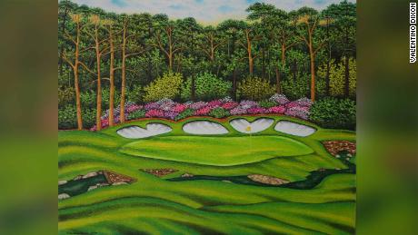 How Valentino Dixon's golf art saved him from a life in prison