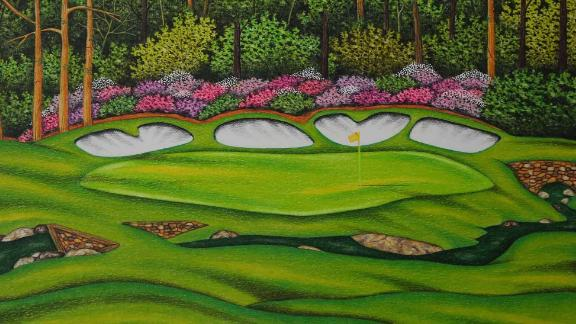 Valentino Dixon took up golf art while serving a life sentence.
