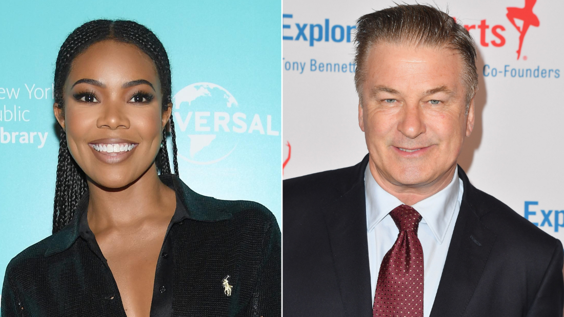 Alec Baldwin and Gabrielle Union weigh in on 'fake news'