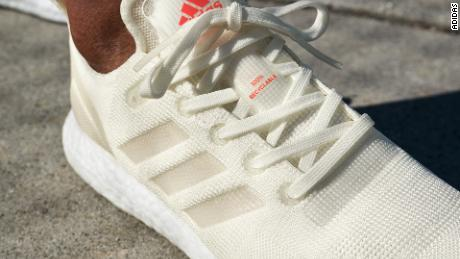 669931fb574da9 These Adidas running shoes are 100% recyclable - CNN Video