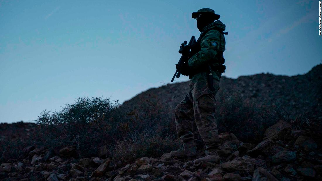 This militia group detained migrants at the border. Then their leader got arrested