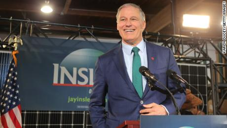 Inslee unveils 100% clean energy plan