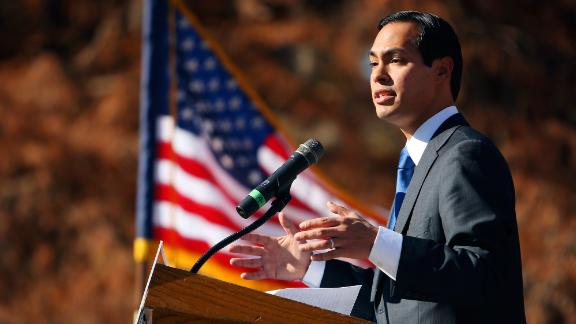 Castro announces in 2008 that he would be running for mayor of San Antonio. In 2001, he had become the youngest city councilman ever elected in San Antonio.
